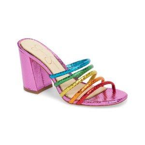 Jessica Simpson Fixton Strappy Slide Sandals